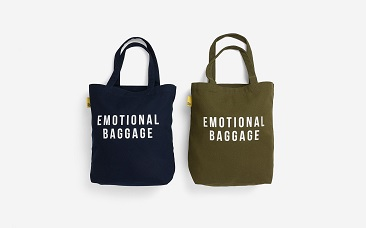 emotional baggage tote bags - resized